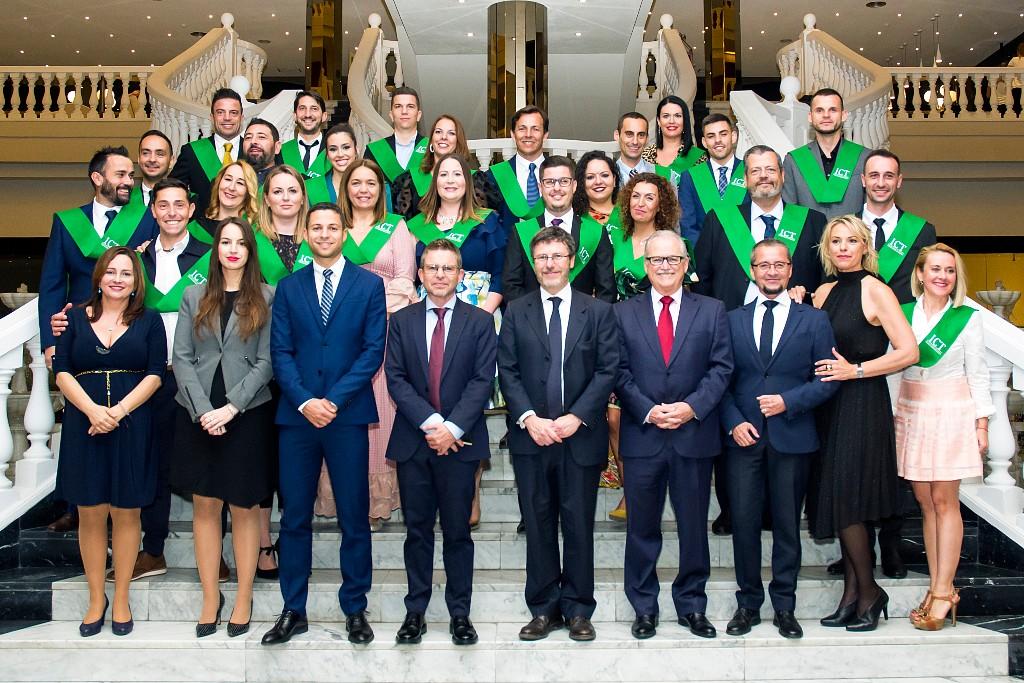 Acto de graduación IX Promoción Máster de Turismo Tenerife