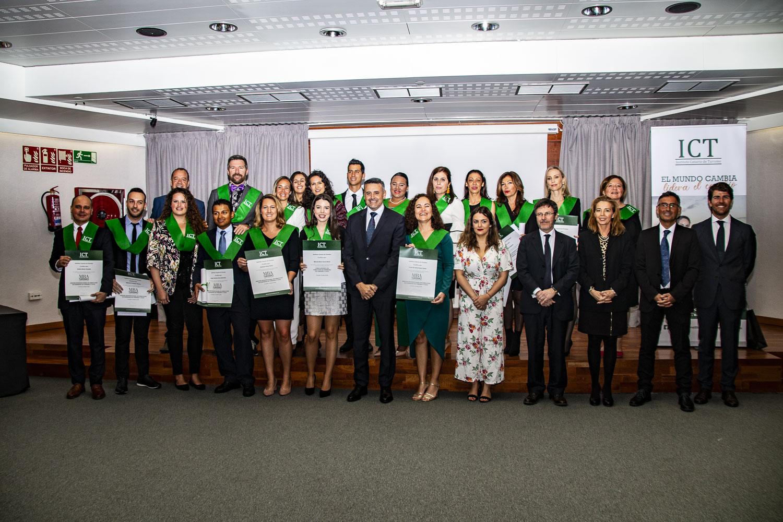 Acto de graduación III Promoción Máster de Turismo Lanzarote