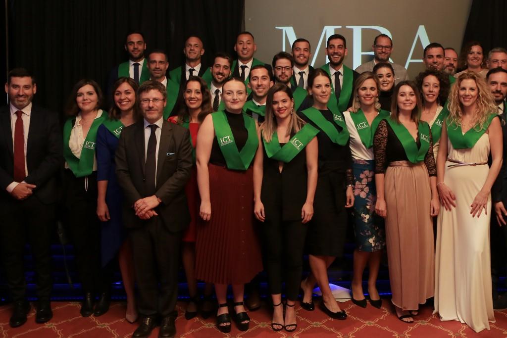 Acto de graduación VI Promoción Máster de Turismo Gran Canaria