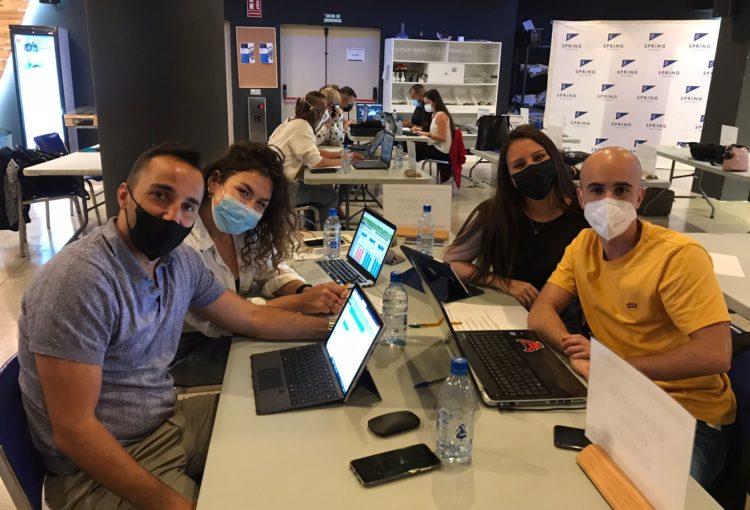 Los alumnos reunidos para Proyecto ICT Tenerife