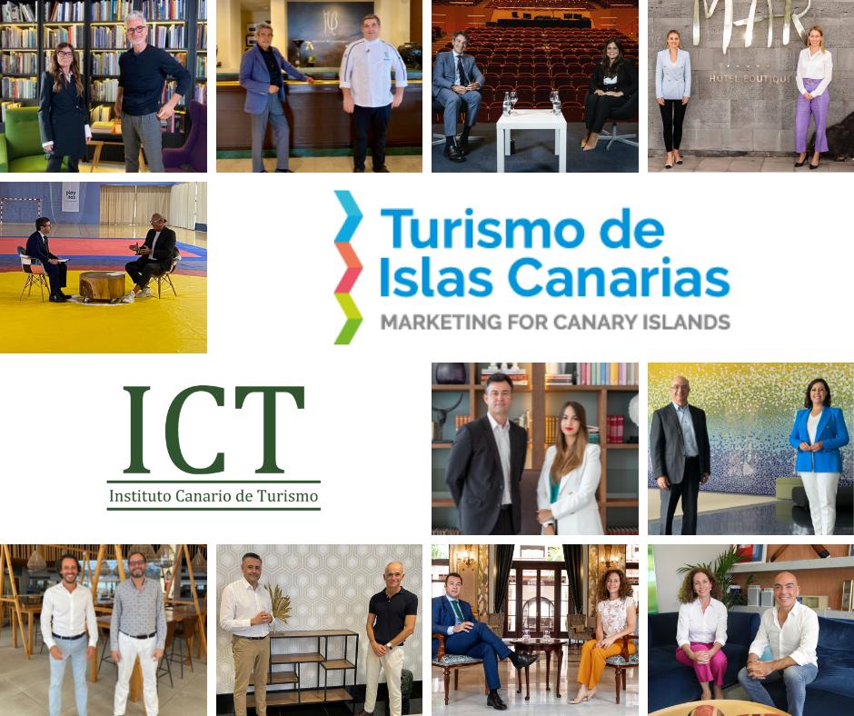 """Ya están publicados los """"10 casos de éxito"""" de nuestra colaboración con Turismo de Islas Canarias y su programa formativo."""